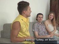 Русский кукколд с турецким парнем