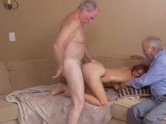 Старики сняли себе молоденькую проститутку