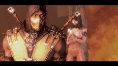 Скорпион из Смертельной битвы вместо драки поимел Милину